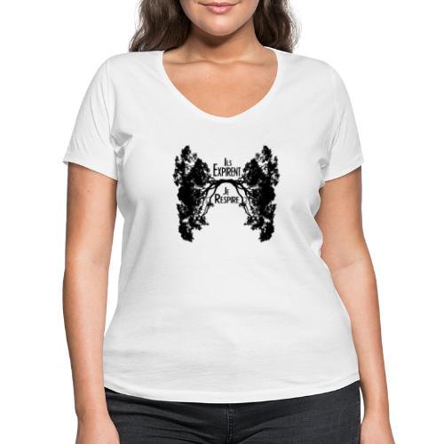 Oxygène - T-shirt bio col V Stanley & Stella Femme