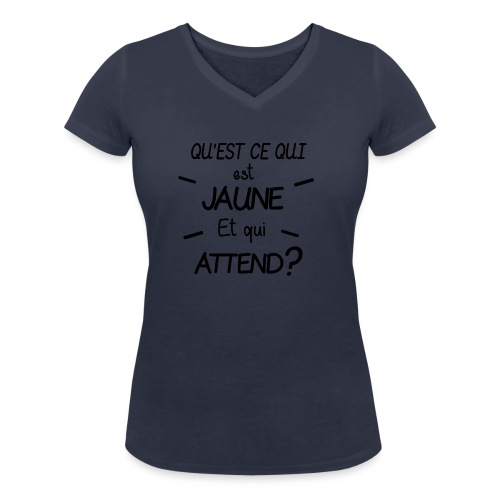 Edition Limitée Jonathan - T-shirt bio col V Stanley & Stella Femme