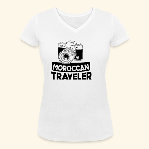 Moroccan Traveler - T-shirt bio col V Stanley & Stella Femme