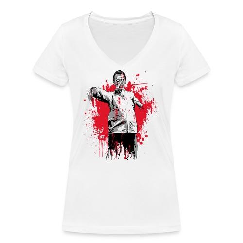 zombie - T-shirt bio col V Stanley & Stella Femme