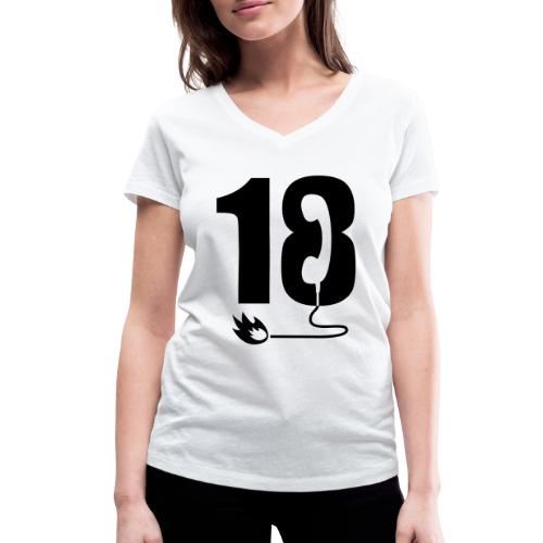18 - T-shirt bio col V Stanley & Stella Femme