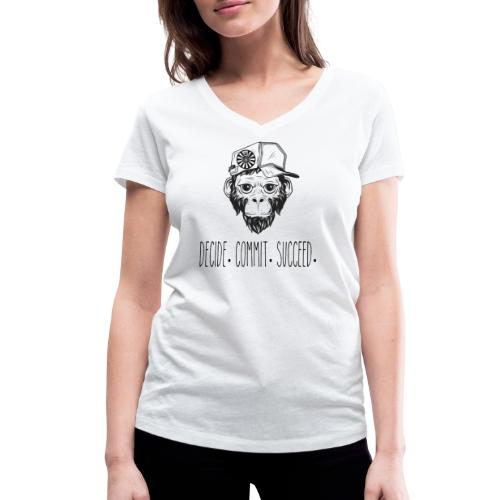 RT Decide - Frauen Bio-T-Shirt mit V-Ausschnitt von Stanley & Stella