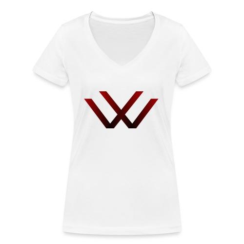 English walaker design - Women's Organic V-Neck T-Shirt by Stanley & Stella