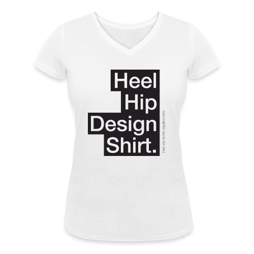 Heel hip - Vrouwen bio T-shirt met V-hals van Stanley & Stella