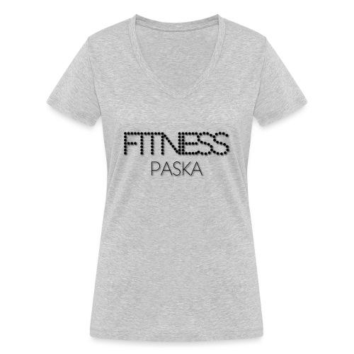 FITNESS PASKA - Stanley & Stellan naisten v-aukkoinen luomu-T-paita