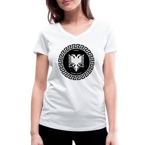 Patrioti Medusa - Frauen Bio-T-Shirt mit V-Ausschnitt von Stanley & Stella