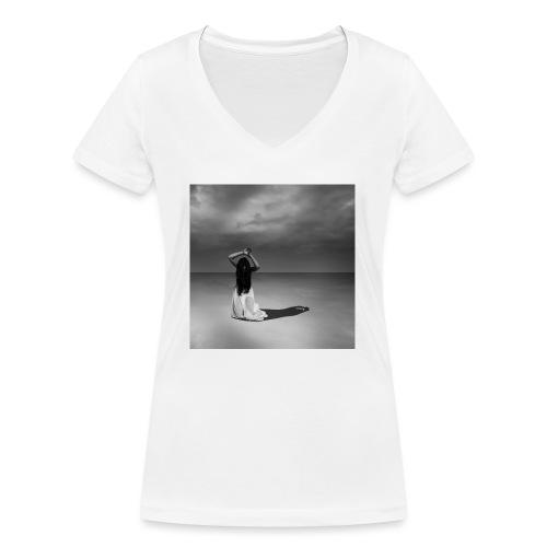 Empire - T-shirt bio col V Stanley & Stella Femme