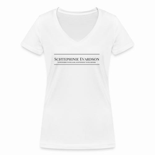 Schtephinie Evardson Professional - Women's Organic V-Neck T-Shirt by Stanley & Stella