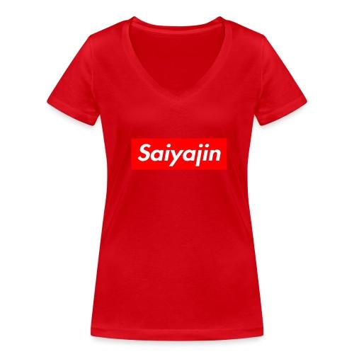 saiyajin - T-shirt bio col V Stanley & Stella Femme