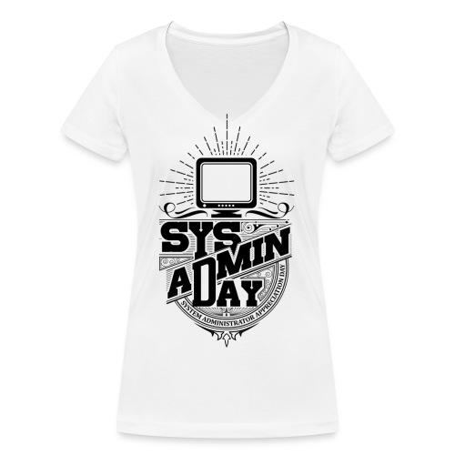 SysAdminDay2 - Frauen Bio-T-Shirt mit V-Ausschnitt von Stanley & Stella