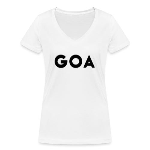 Trippy Goa - Frauen Bio-T-Shirt mit V-Ausschnitt von Stanley & Stella