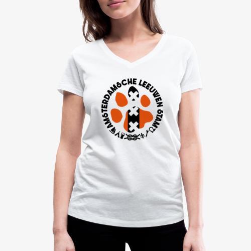 ALS witte rand licht - Vrouwen bio T-shirt met V-hals van Stanley & Stella