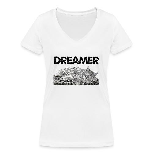 Dreamer - T-shirt ecologica da donna con scollo a V di Stanley & Stella
