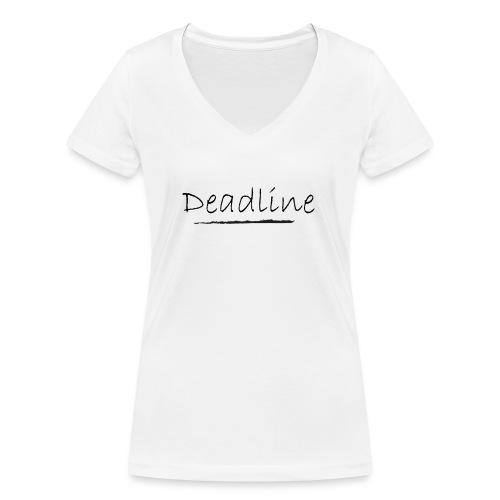 Deadline Rave - Frauen Bio-T-Shirt mit V-Ausschnitt von Stanley & Stella
