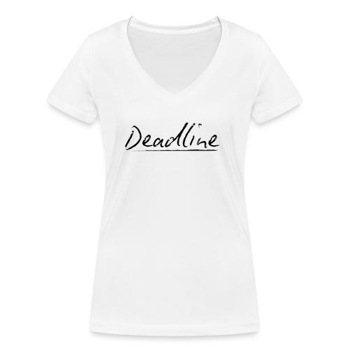 Deadline #3 Techno - Frauen Bio-T-Shirt mit V-Ausschnitt von Stanley & Stella