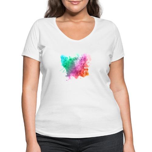 Tache - T-shirt bio col V Stanley & Stella Femme