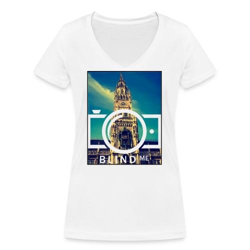 Offical BlindMe - Women's Organic V-Neck T-Shirt by Stanley & Stella
