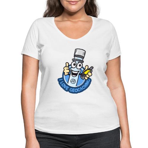 PETti the PETling - Frauen Bio-T-Shirt mit V-Ausschnitt von Stanley & Stella