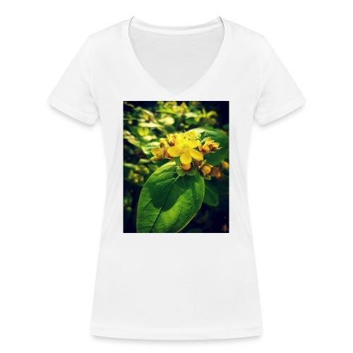 Fleur - T-shirt bio col V Stanley & Stella Femme