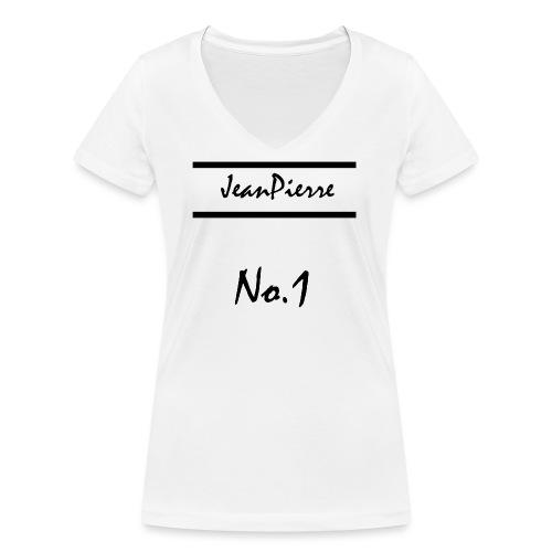 JeanPierreNo1 png - Frauen Bio-T-Shirt mit V-Ausschnitt von Stanley & Stella