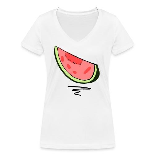 Pastèque - T-shirt bio col V Stanley & Stella Femme
