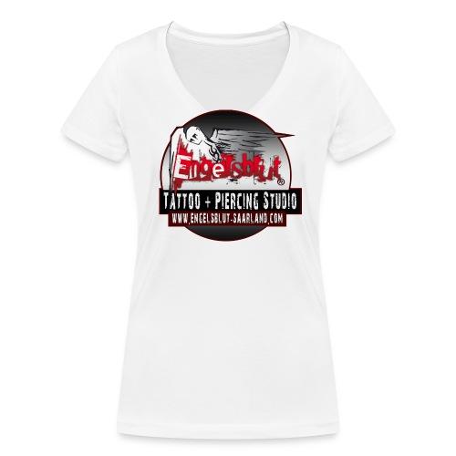 logosaar png - Frauen Bio-T-Shirt mit V-Ausschnitt von Stanley & Stella