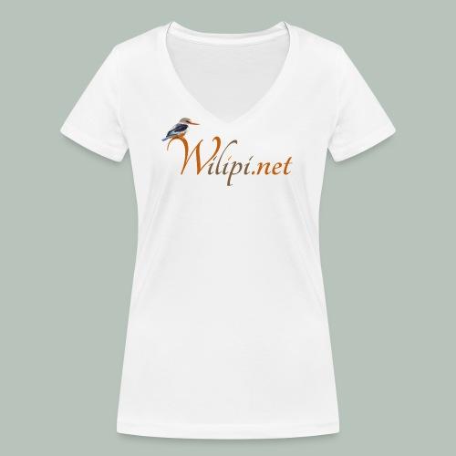 logo wilipi - T-shirt bio col V Stanley & Stella Femme