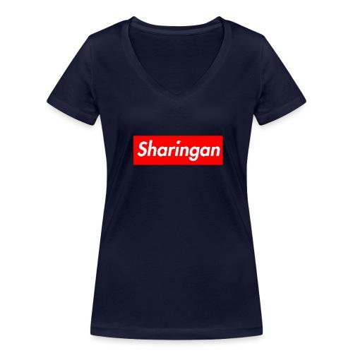 Sharingan tomoe - T-shirt bio col V Stanley & Stella Femme