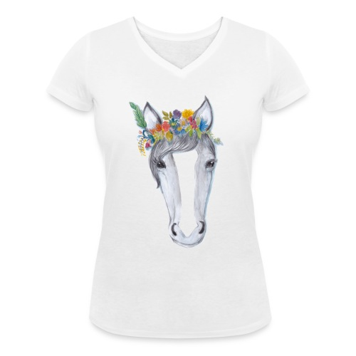 Rosie - Women's Organic V-Neck T-Shirt by Stanley & Stella