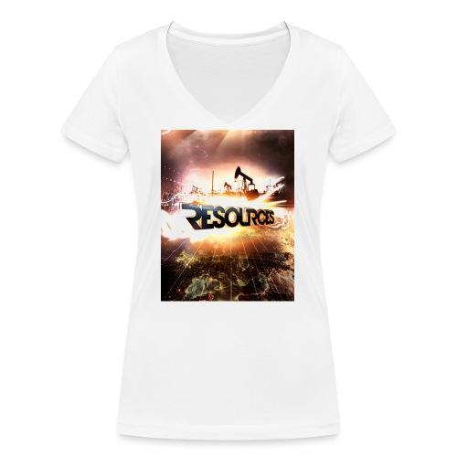RESOURCES Splash Screen - Frauen Bio-T-Shirt mit V-Ausschnitt von Stanley & Stella