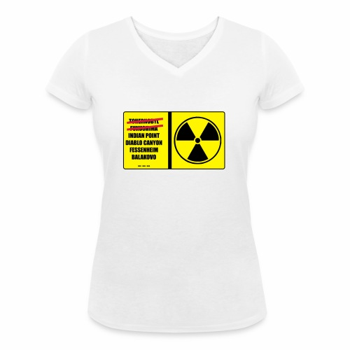 nucleaire - T-shirt bio col V Stanley & Stella Femme