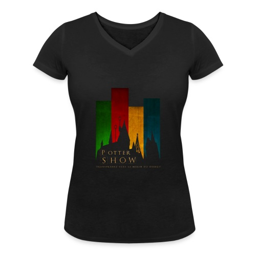CalquePngLogoNEWpts png - T-shirt bio col V Stanley & Stella Femme