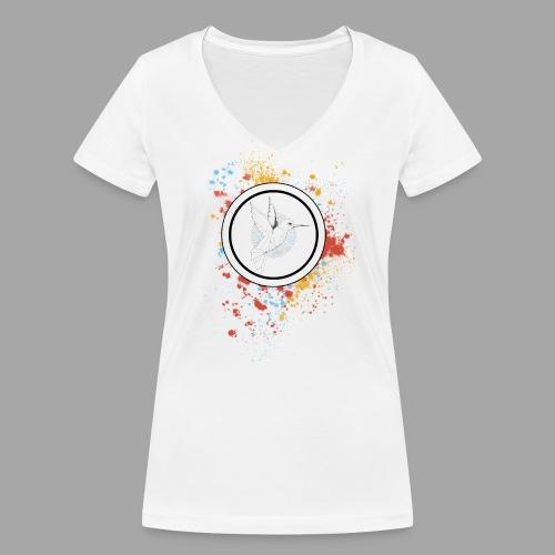 Ton âme qui veille - La valse à mille points - T-shirt bio col V Stanley & Stella Femme