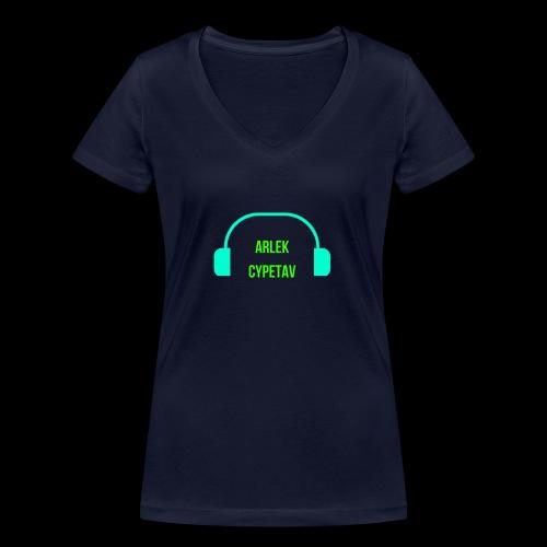 ARLEK CYPETAV - T-shirt bio col V Stanley & Stella Femme