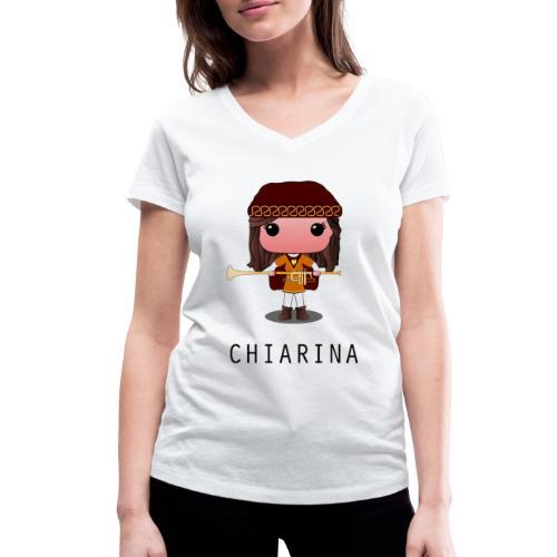 chiarina contrada monticelli - T-shirt ecologica da donna con scollo a V di Stanley & Stella