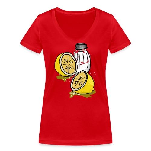 Tequila - Vrouwen bio T-shirt met V-hals van Stanley & Stella
