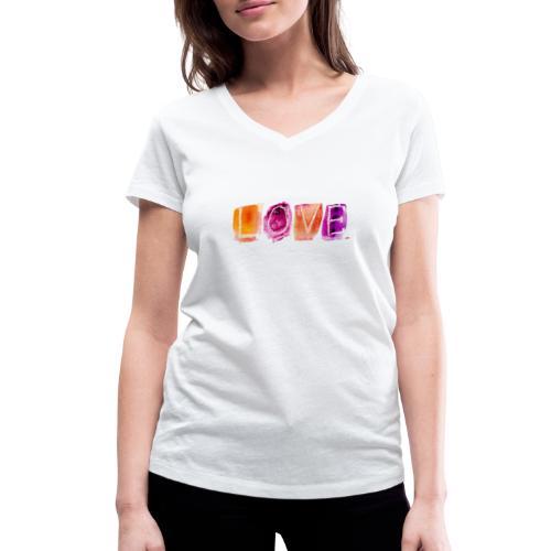 Love - T-shirt bio col V Stanley & Stella Femme