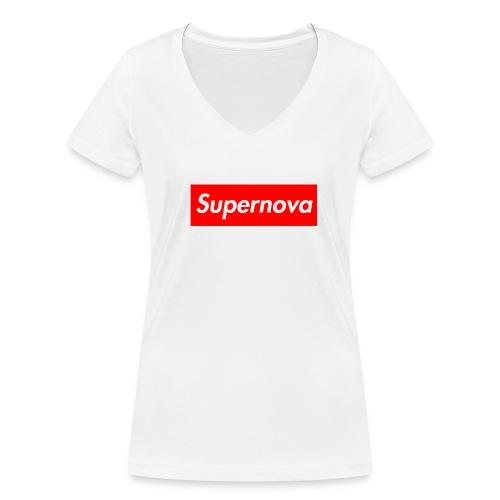 Supernova - T-shirt bio col V Stanley & Stella Femme