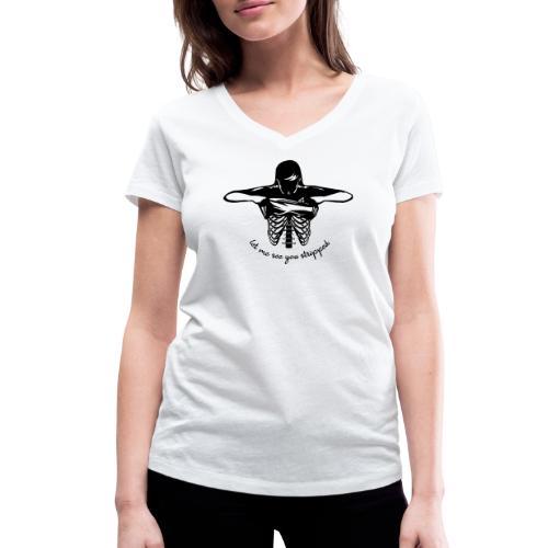 DM stripped - Frauen Bio-T-Shirt mit V-Ausschnitt von Stanley & Stella