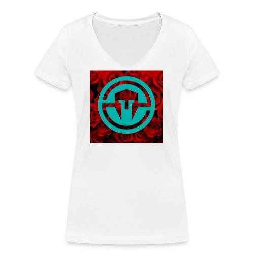 xxImmortalScope - Women's Organic V-Neck T-Shirt by Stanley & Stella