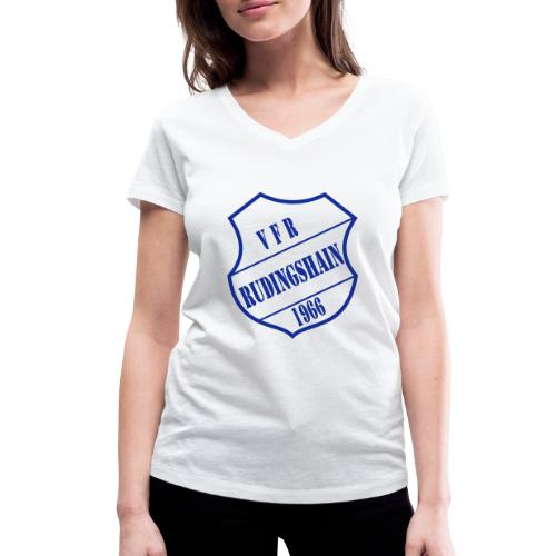 VFR-Blau - Frauen Bio-T-Shirt mit V-Ausschnitt von Stanley & Stella