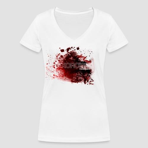 Exorcism - Women's Organic V-Neck T-Shirt by Stanley & Stella