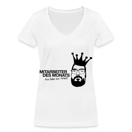 Mitarbeiter des Monats - Frauen Bio-T-Shirt mit V-Ausschnitt von Stanley & Stella