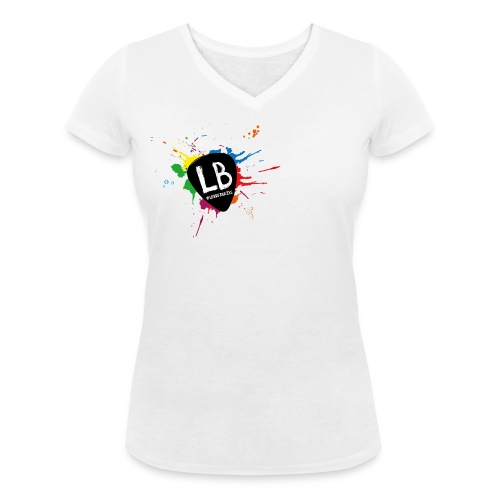 Logo Lekker Bezig png - Vrouwen bio T-shirt met V-hals van Stanley & Stella