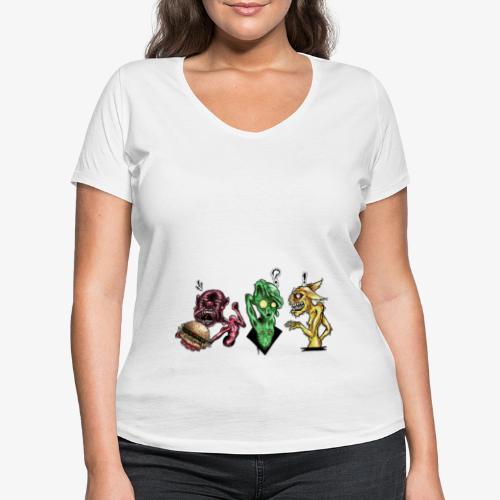 Weird communication - T-shirt bio col V Stanley & Stella Femme