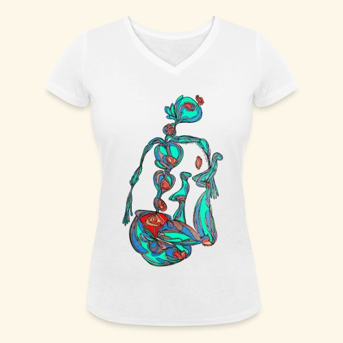 Fontaine - T-shirt bio col V Stanley & Stella Femme