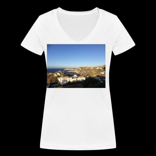 creece - Vrouwen bio T-shirt met V-hals van Stanley & Stella
