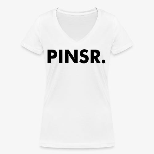PINSR. White - Vrouwen bio T-shirt met V-hals van Stanley & Stella