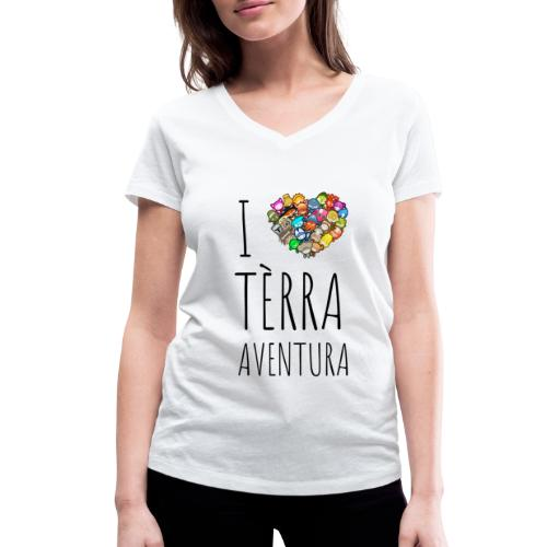 ImpressionDigitaleDirecte - T-shirt bio col V Stanley & Stella Femme