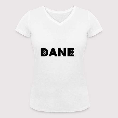 DANE - Knitted Original - Women's Organic V-Neck T-Shirt by Stanley & Stella